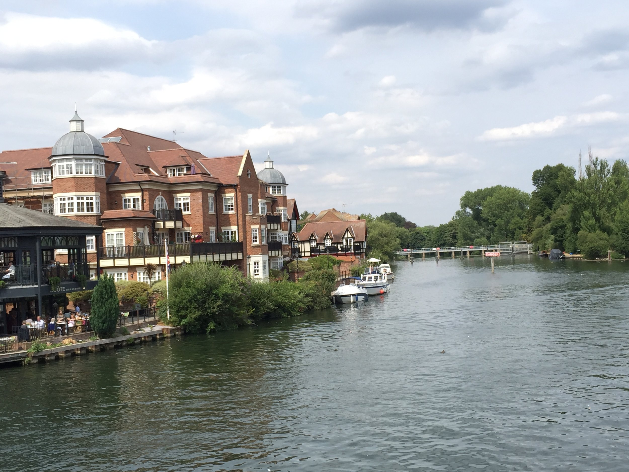the Thames in Windsor