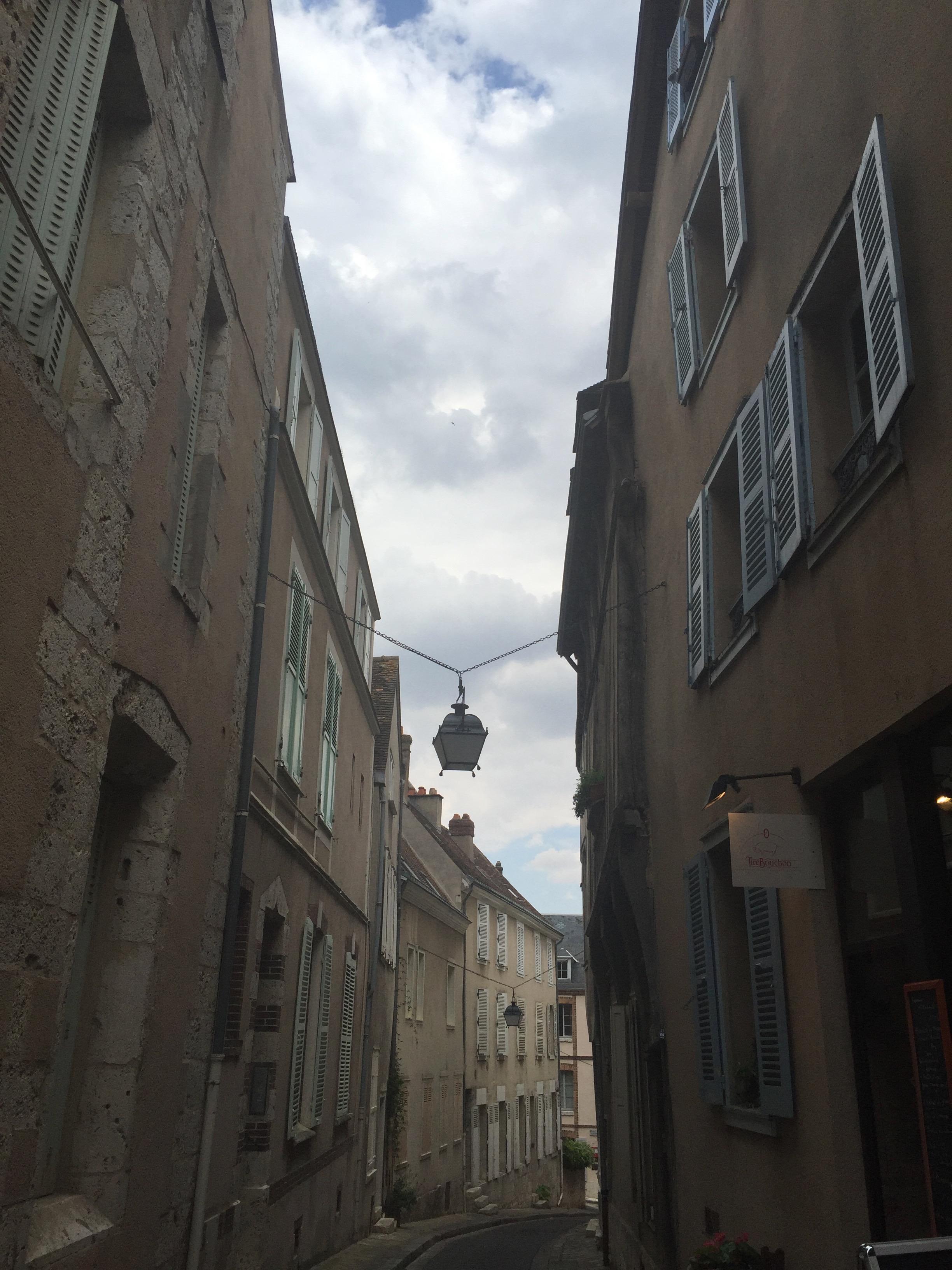 narrow medival streets