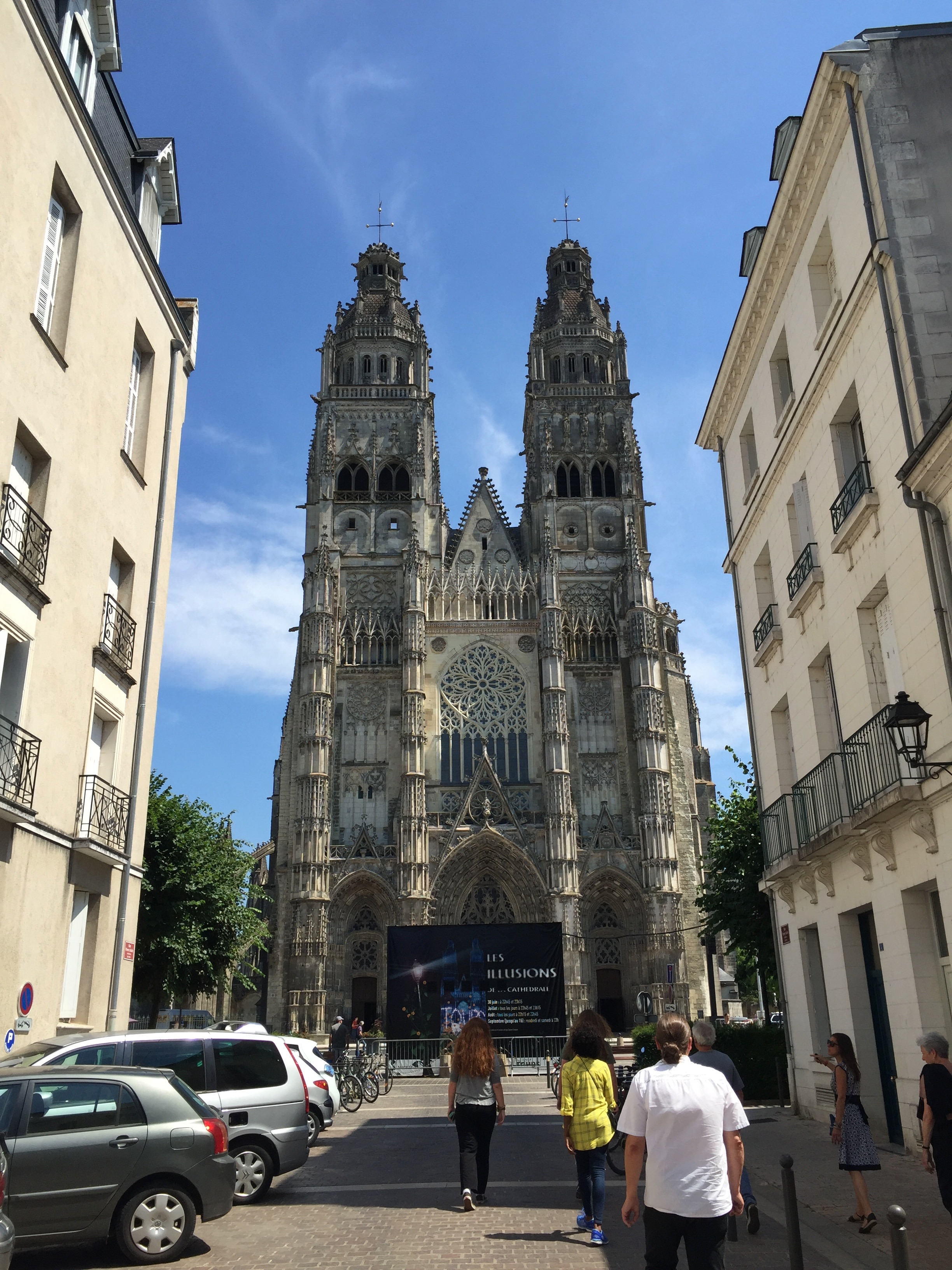 the cathedral in Tours