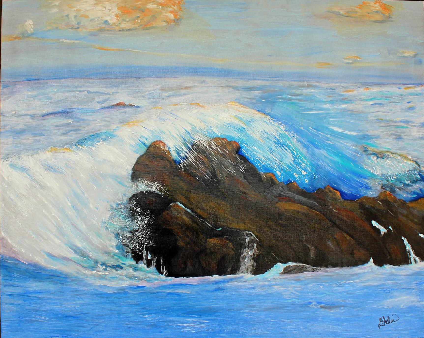 Ocean III, Acrylic, 32x40.jpg