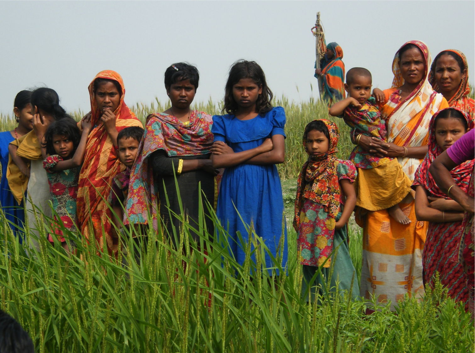 Climate change, Bangladesh. Monitoring = Letting the context ask questions... and responding.