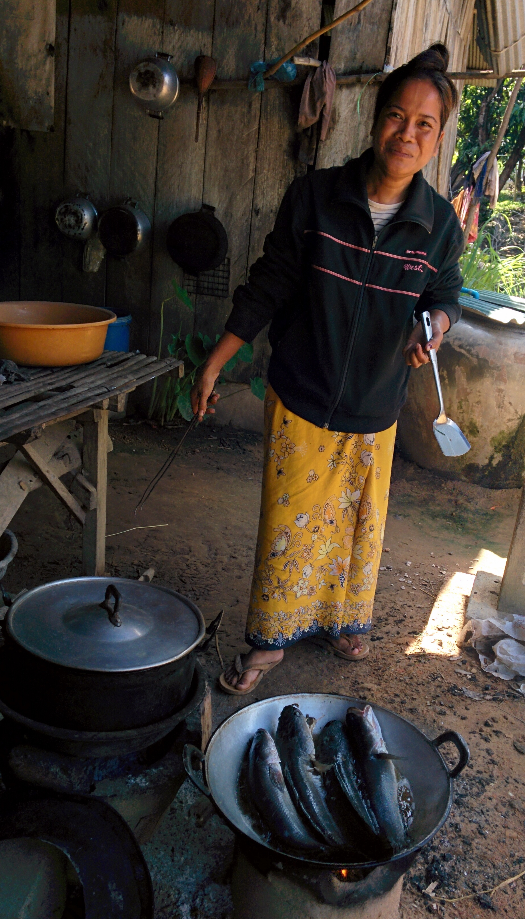 A Cambodian village where food has not (yet ) been cheapened.