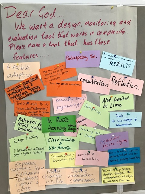 In. a playful exercise at an OMLC workshop (Bangkok 2018) I had participants petition God for a development tool with their ideal attributes. I think OM and OH fulfils almost all their wishes.