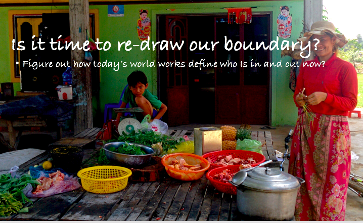 The second to last slide in my final presentation to the NGO and funders.