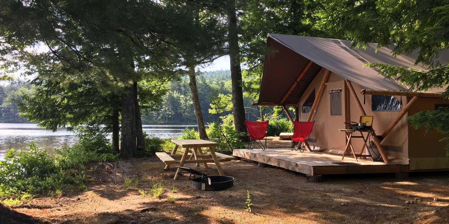 Huttopia - A stay at Huttopia will not disappoint. Relax lakeside, take a dip in the pool, even get your morning coffee served out of a vintage airstream on site. Glamping at it's best!