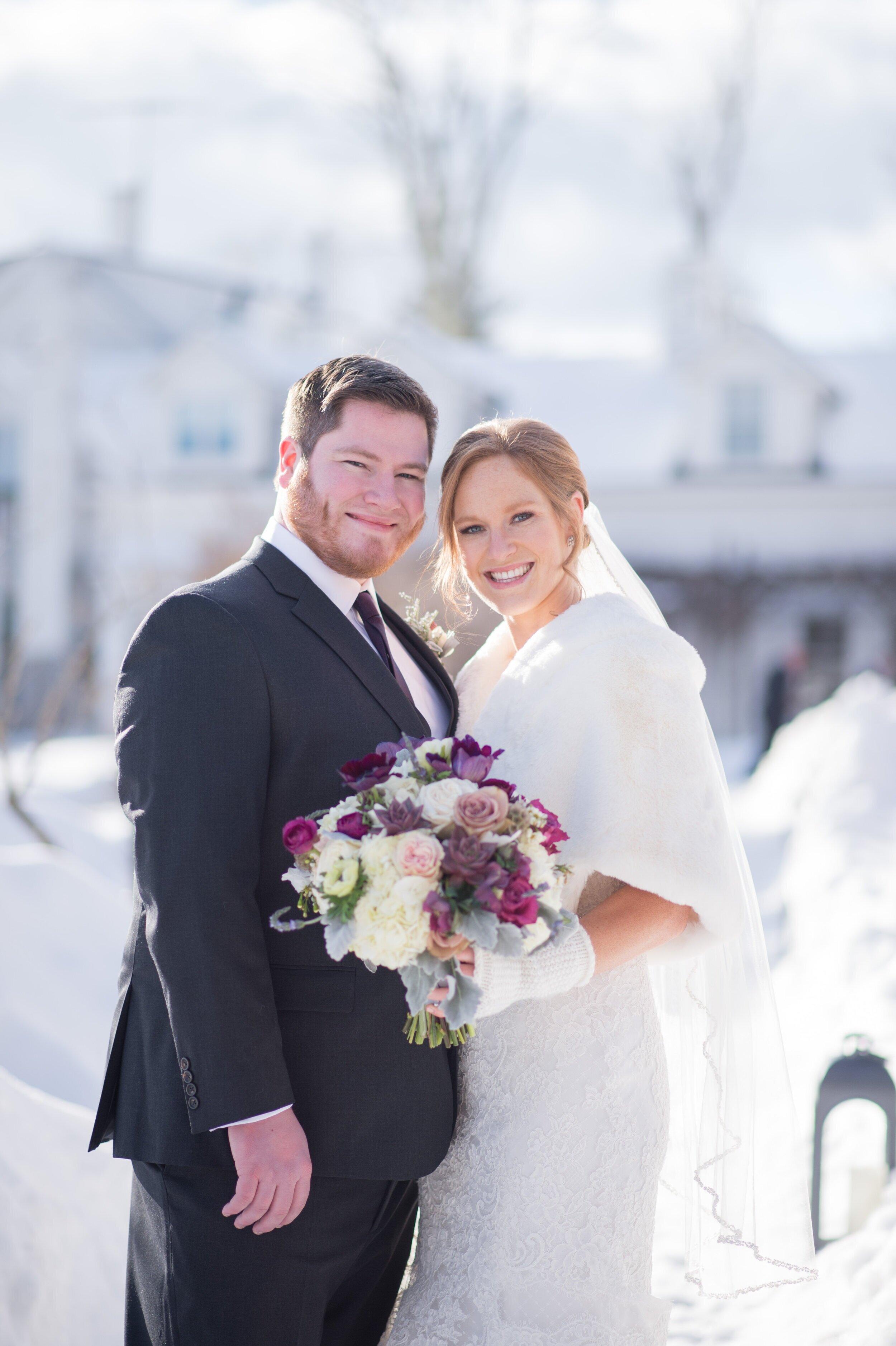 A SNOWY WINTER WEDDING