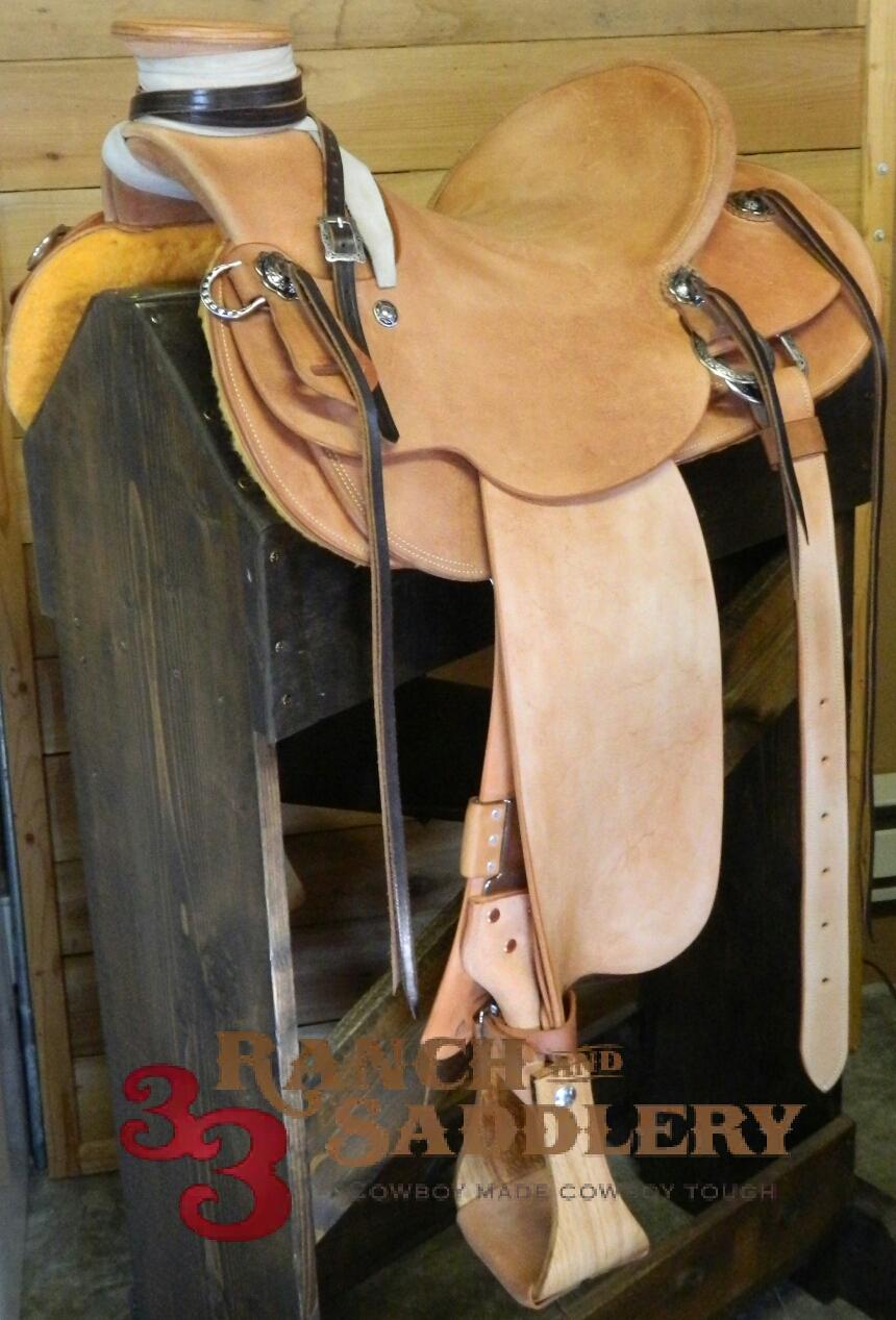 Custom Wade Saddle for Garin