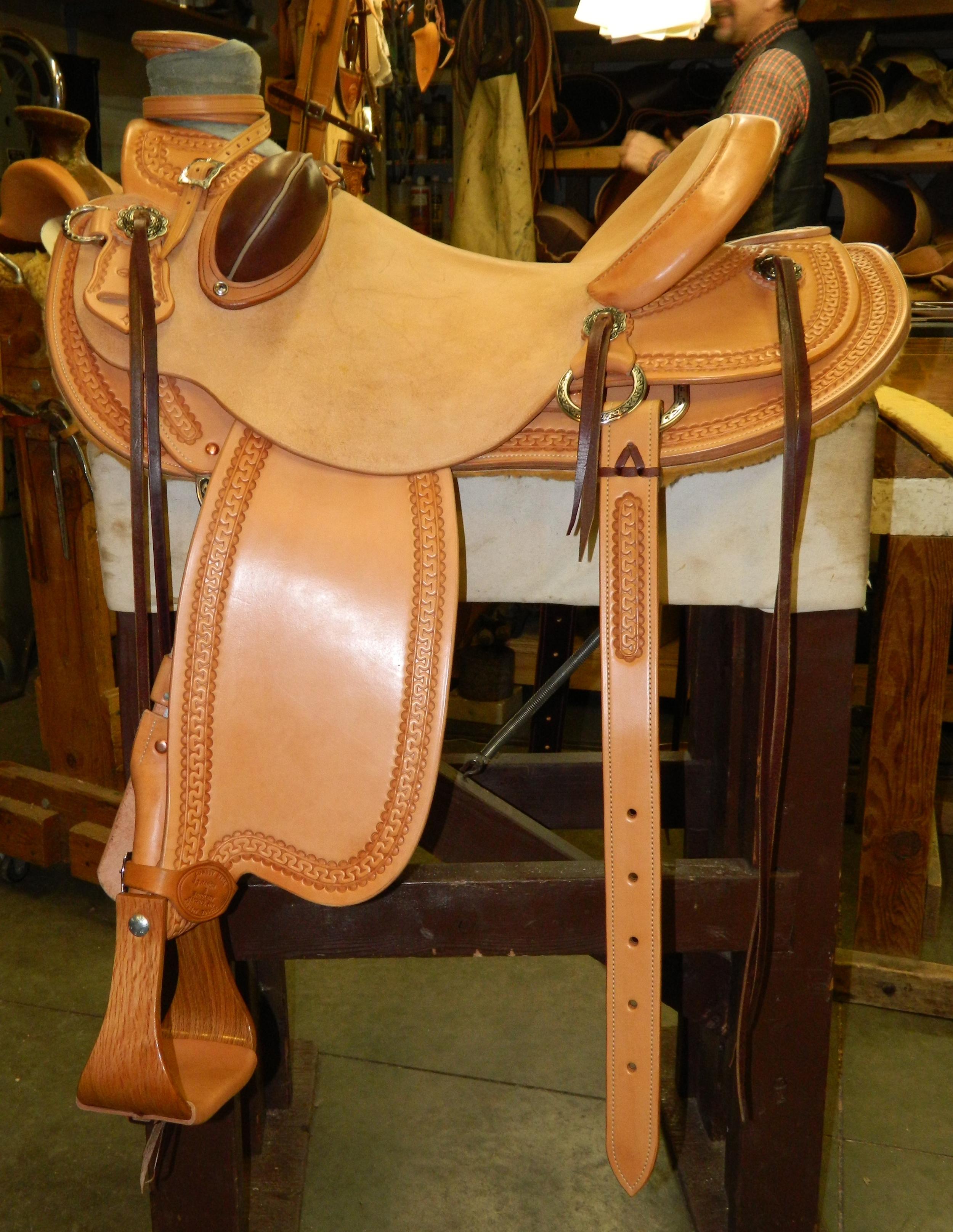 Custom Wade Saddle - Michelle
