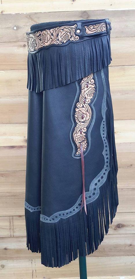 Custom Armitas - Black Vintage Rose