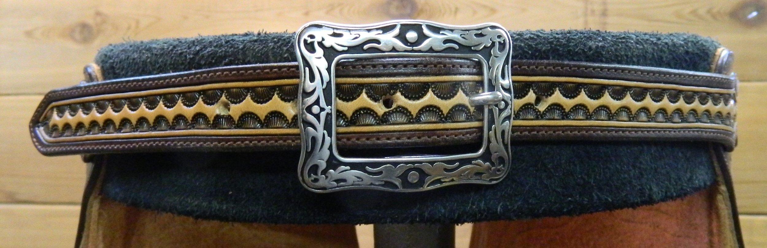 Woolie Chinks - Back Belt