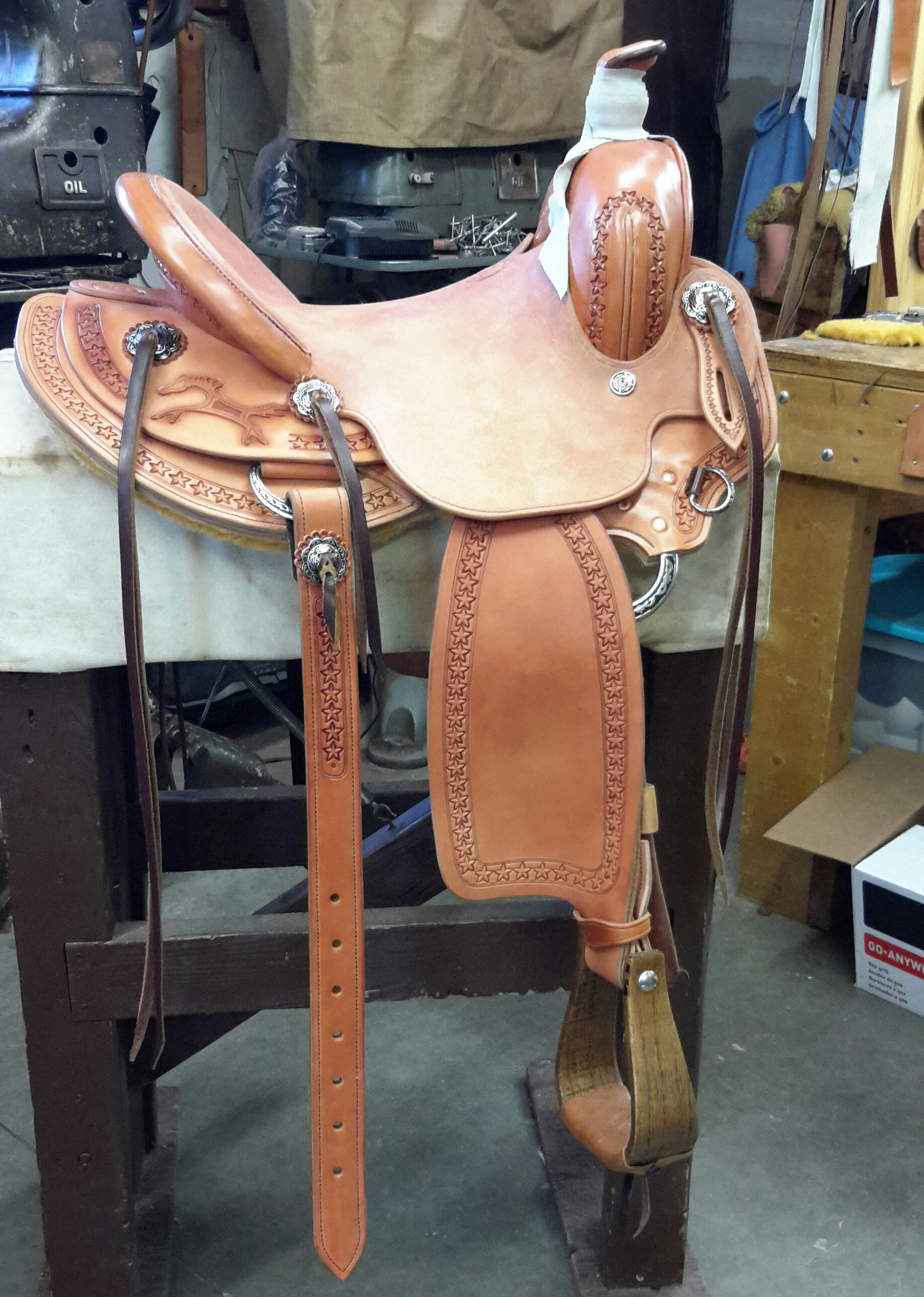 Custom Saddle For Lonnie