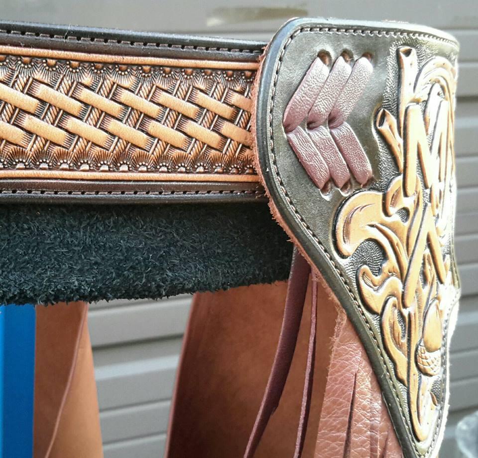 Custom Chinks M Danks - Back Belt