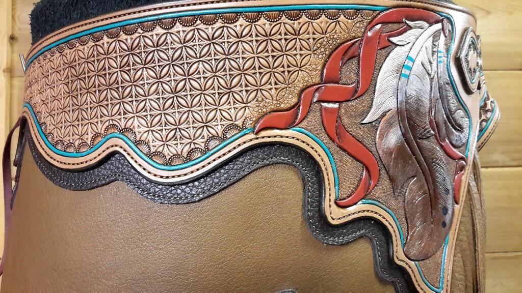 Patty's Custom Chinks - Yoke Detail