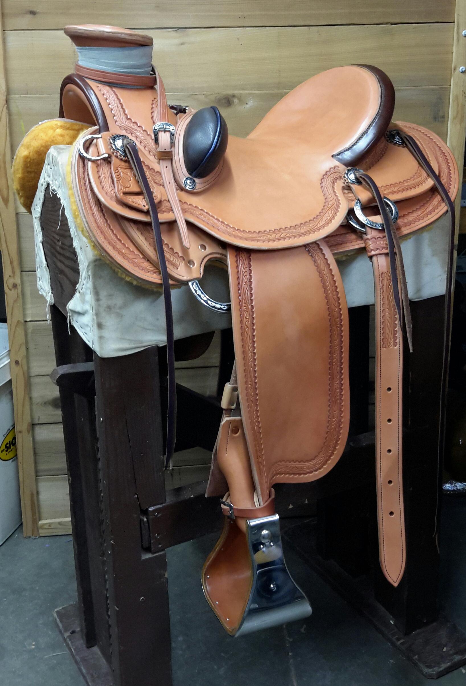 Shelly's Custom Wade Saddle