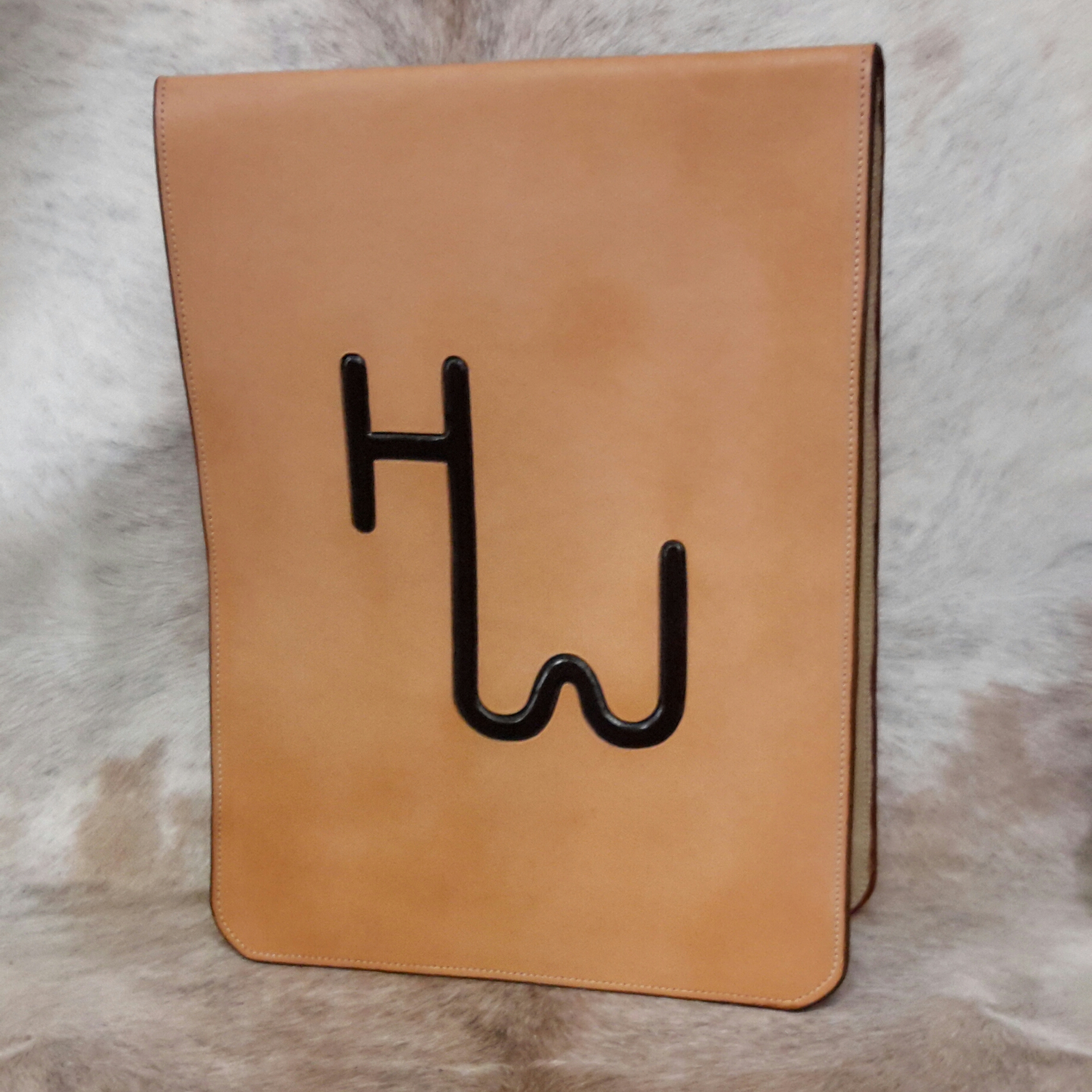 Leather Bound Judges Clipboard
