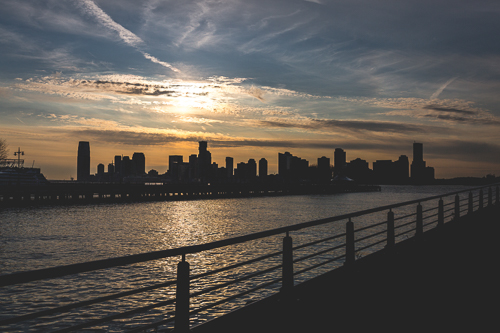 NEW JERSEY SKYLINE   FROM £15.00