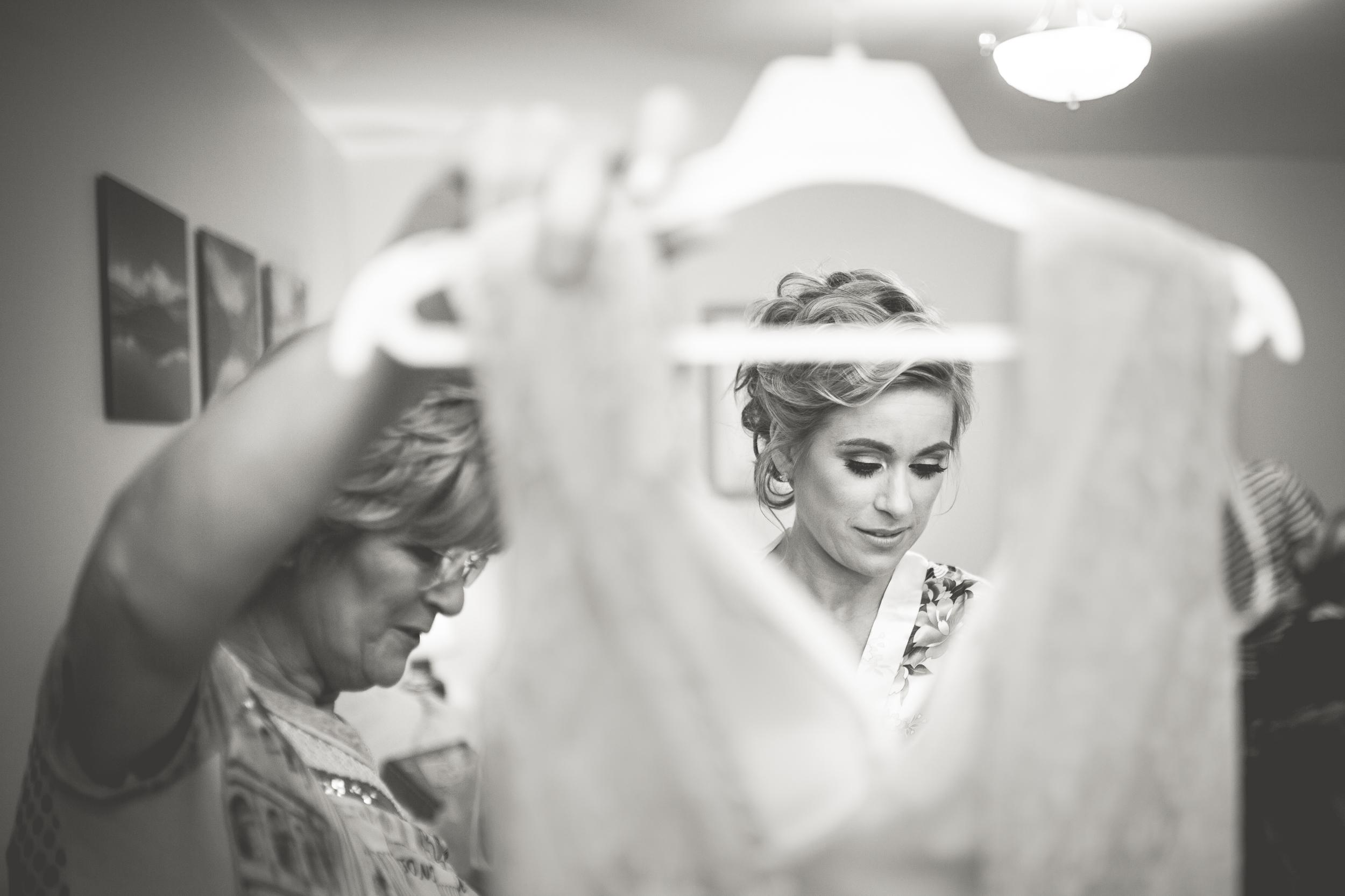 Wedding Photographer North Down | Newtownabbey Wedding Photographer | Bride with Dress