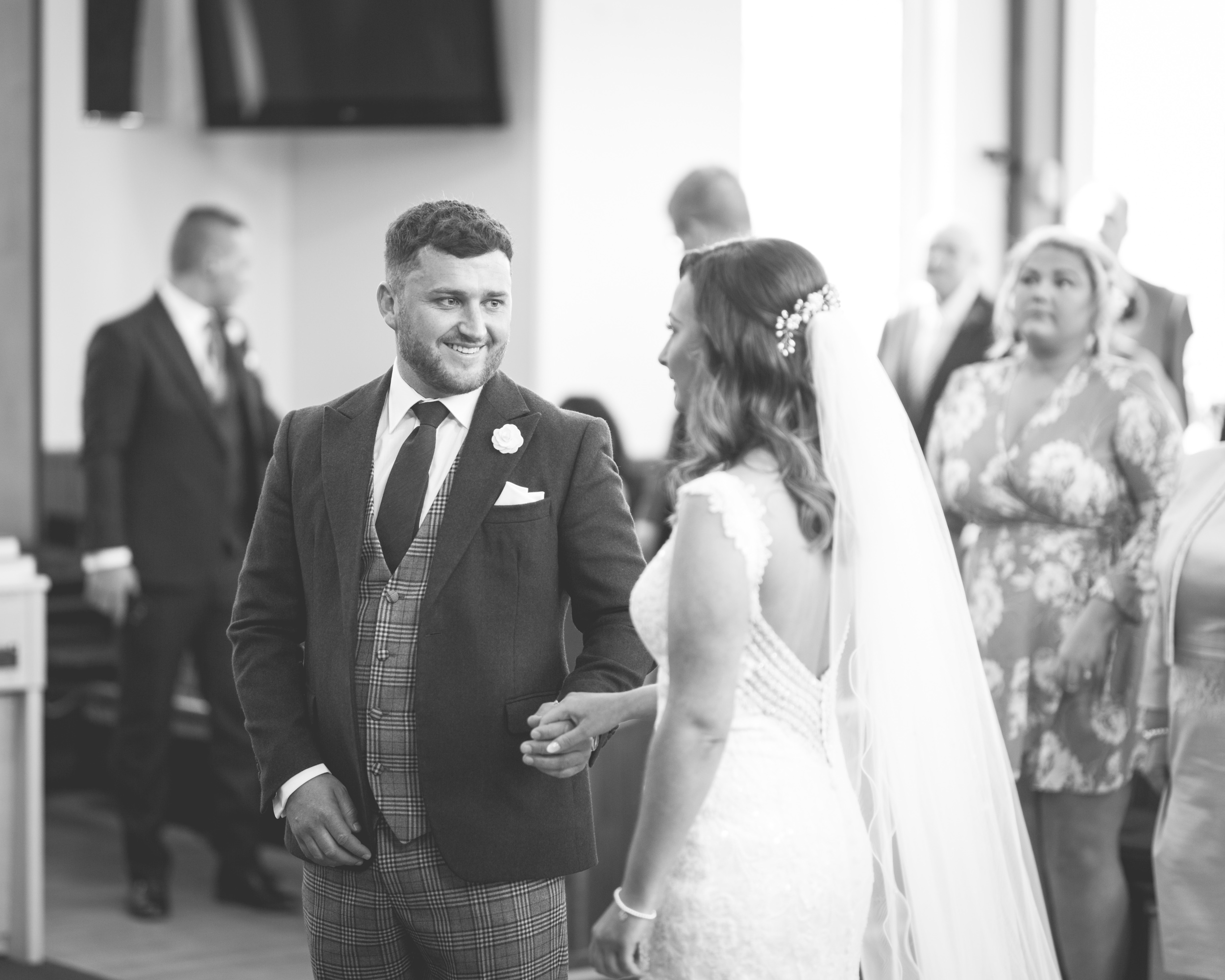 Brian McEwan | Northern Ireland Wedding Photographer | Rebecca & Michael | Ceremony-32.jpg