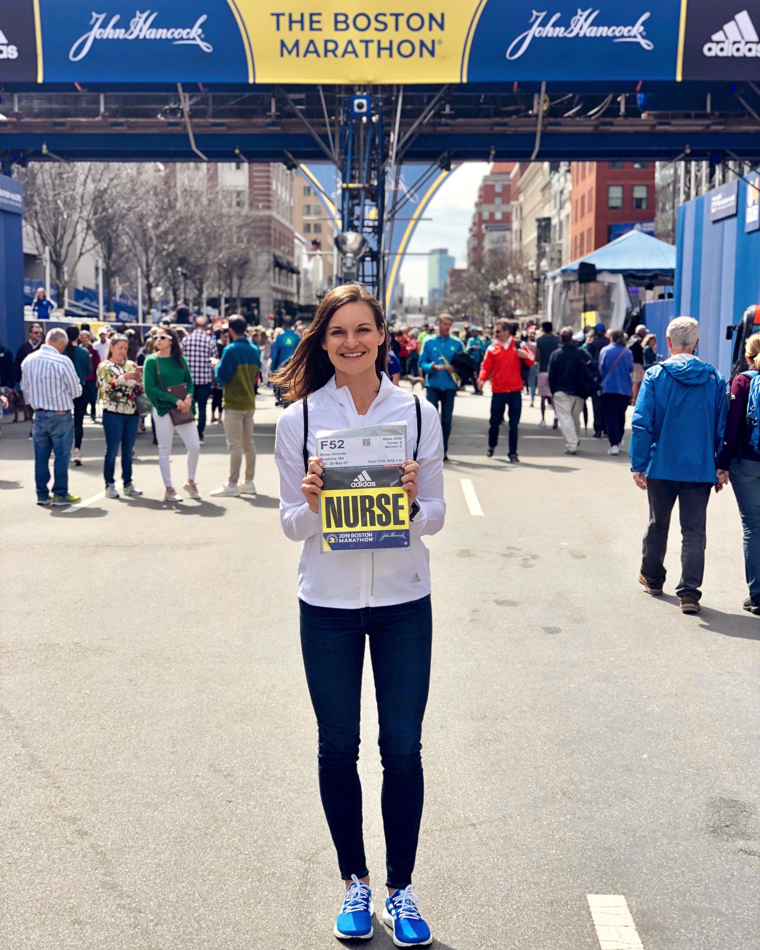 My 20th marathon, Boston 2019 (2:42:30).