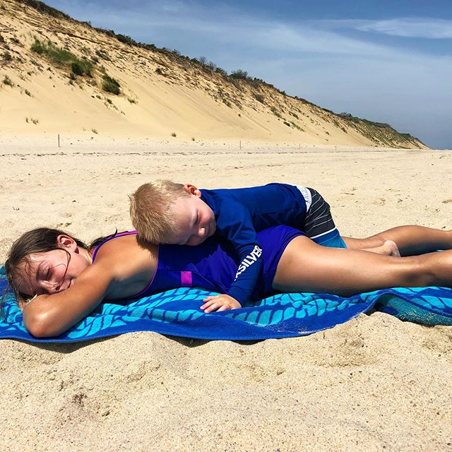 #beachlife is the best life ☀️🌊⛱ #wellfleet #capecod #neverleaving