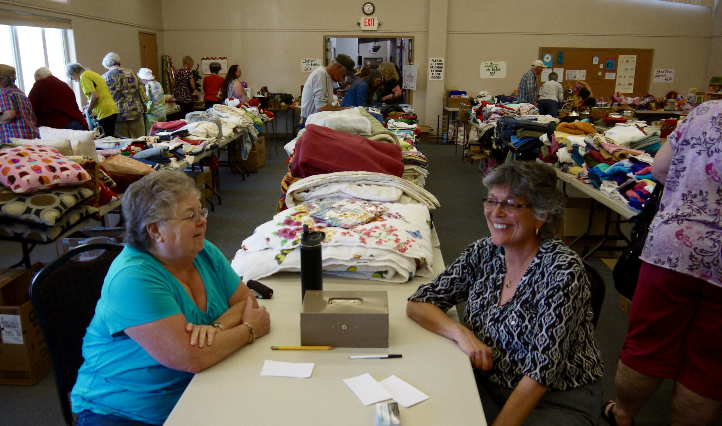 Our Rummage Sale is more than a fundraiser, it's also an opportunity for our congregation to engage with the community and each other.