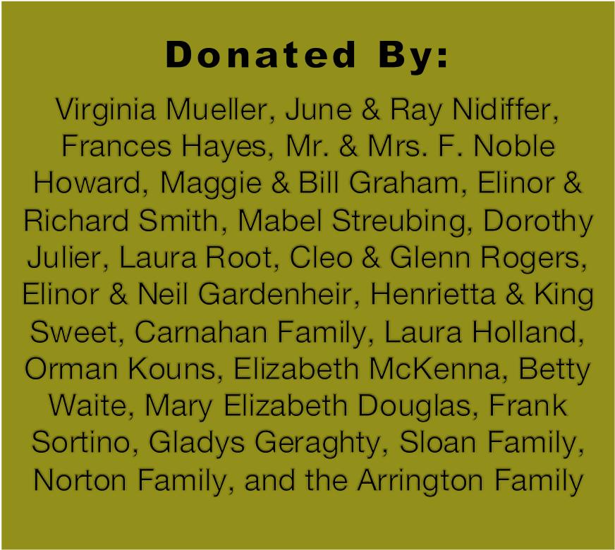 Window Panel Donors