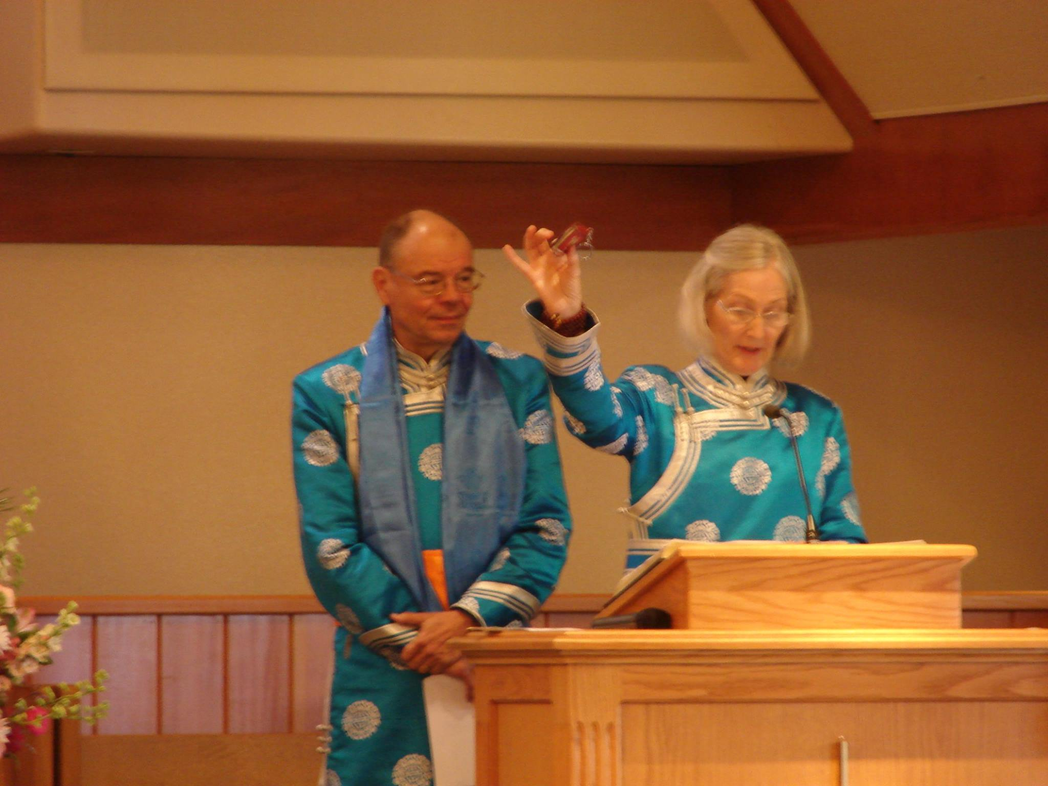 Hugh and Teena Anderson talk about their missionary work in Northern China.