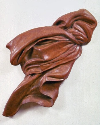 The Fold,  2000: bronze, each from 2 1/2 to 3 feet in either dimension   