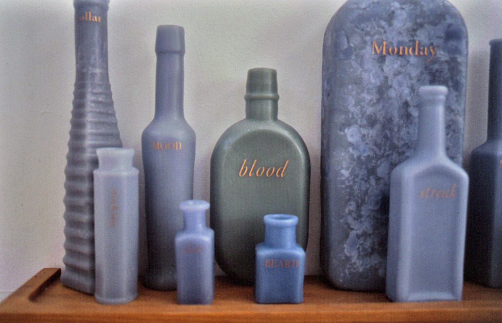 On being blue,  1996: Detail