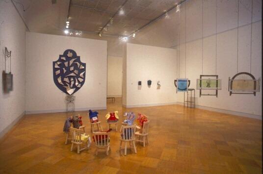 Installation shot, SECA exhibition, 1992, San Francisco Museum of Modern Art