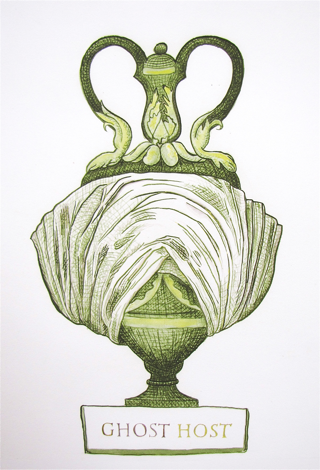 Bust/urn (Ghost Host) 2012