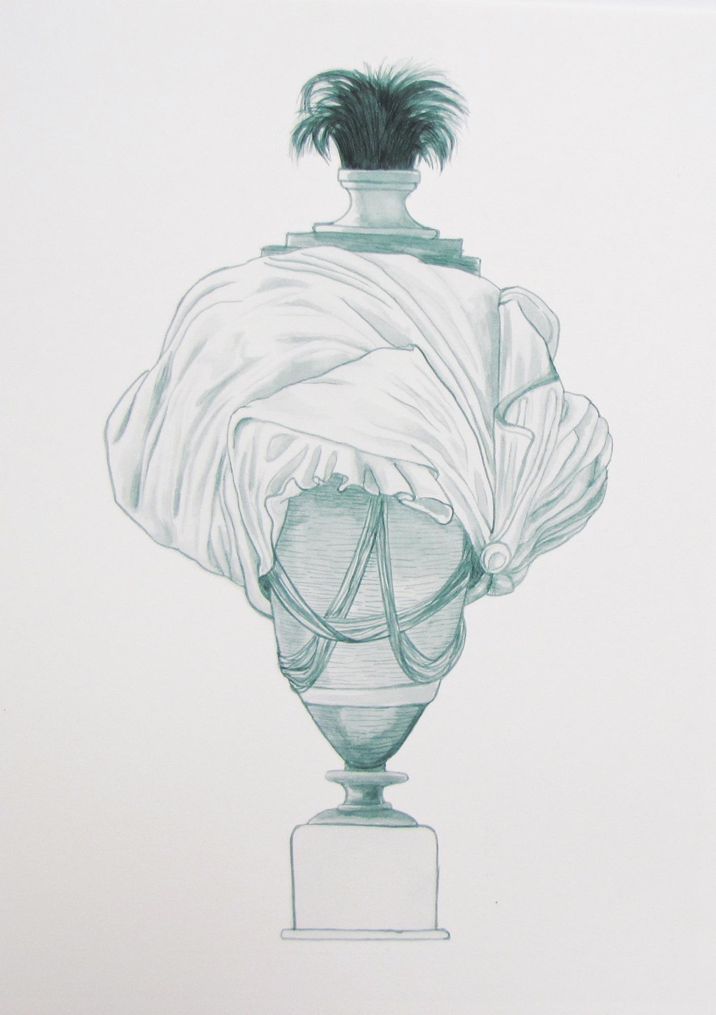 Bust/urn (mixed metaphor) 2012