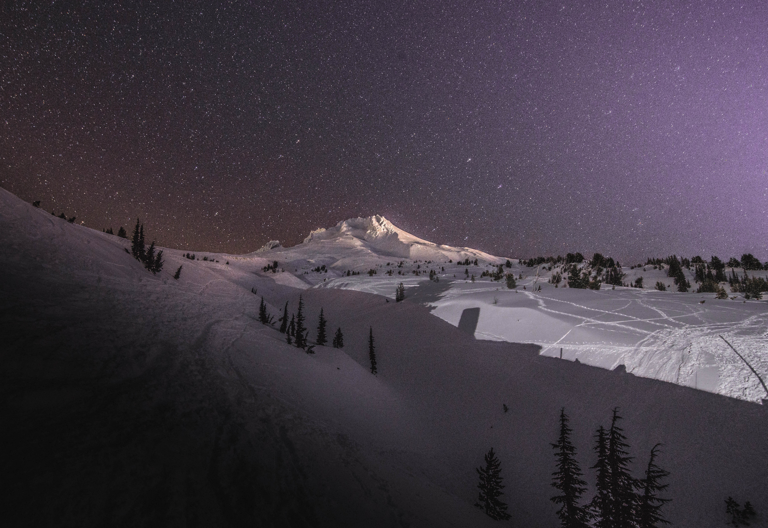 Mt. Hood @ night | Mt. Hood, OR