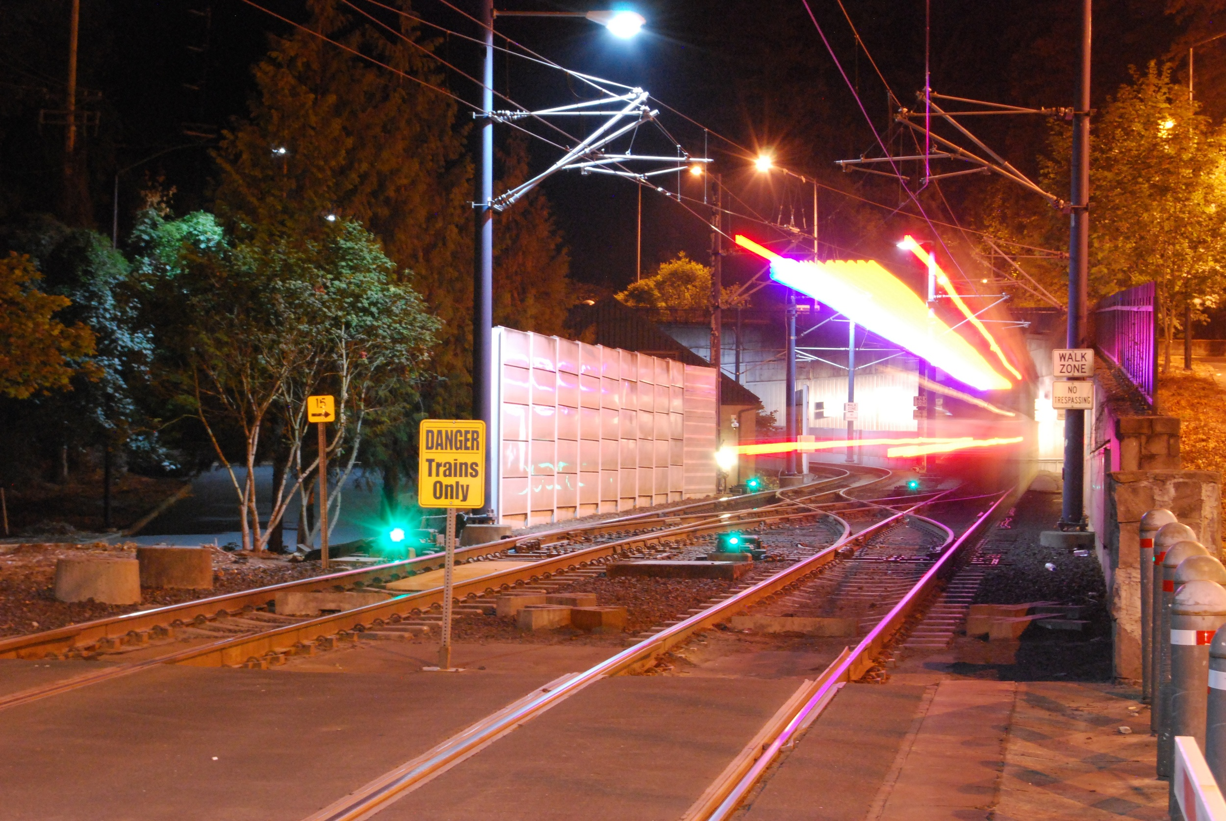 Long exposure of TriMet | Portland, OR