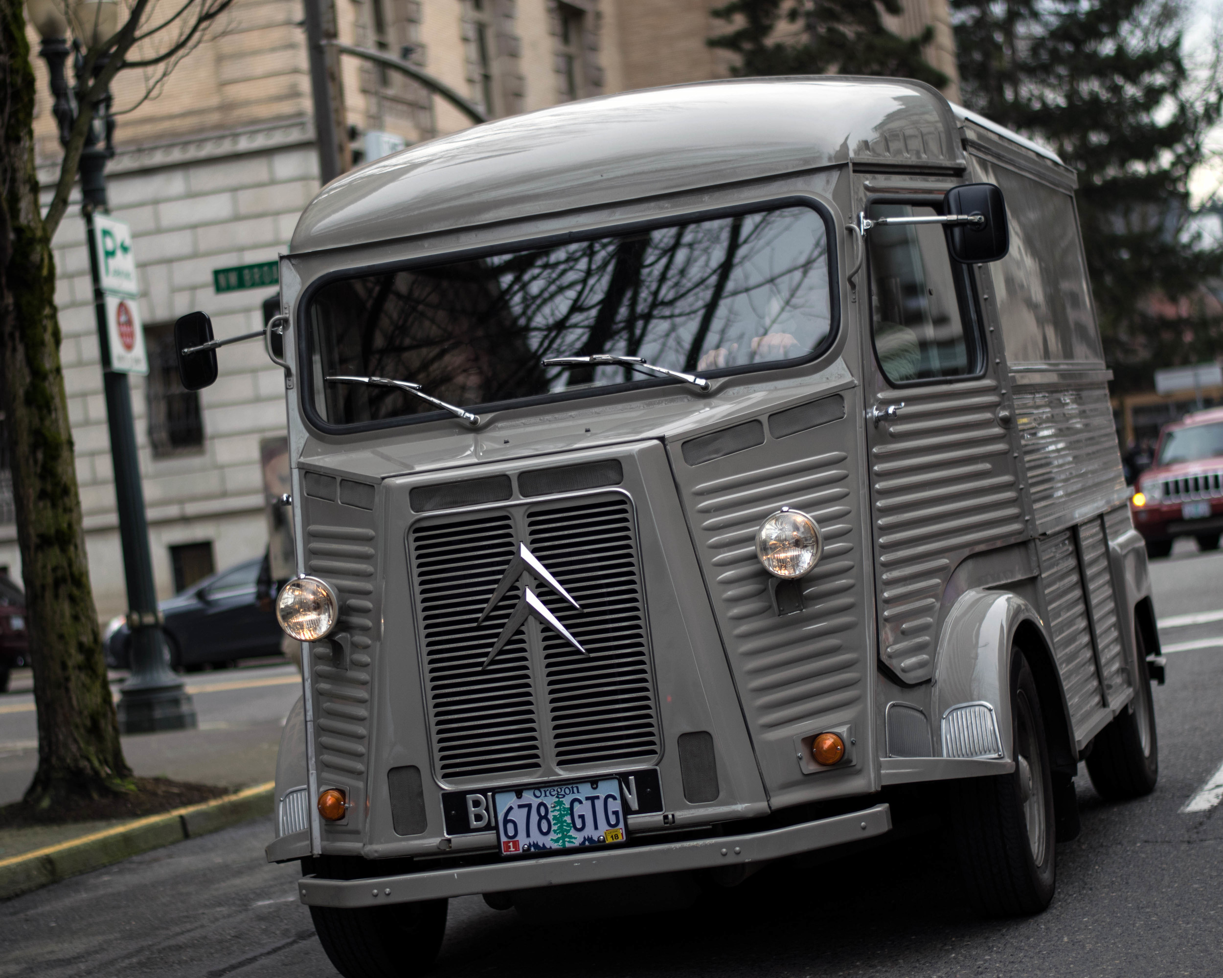 Citroen milk delivery truck | Portland, OR