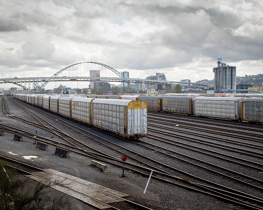 Train yard | Portland, OR