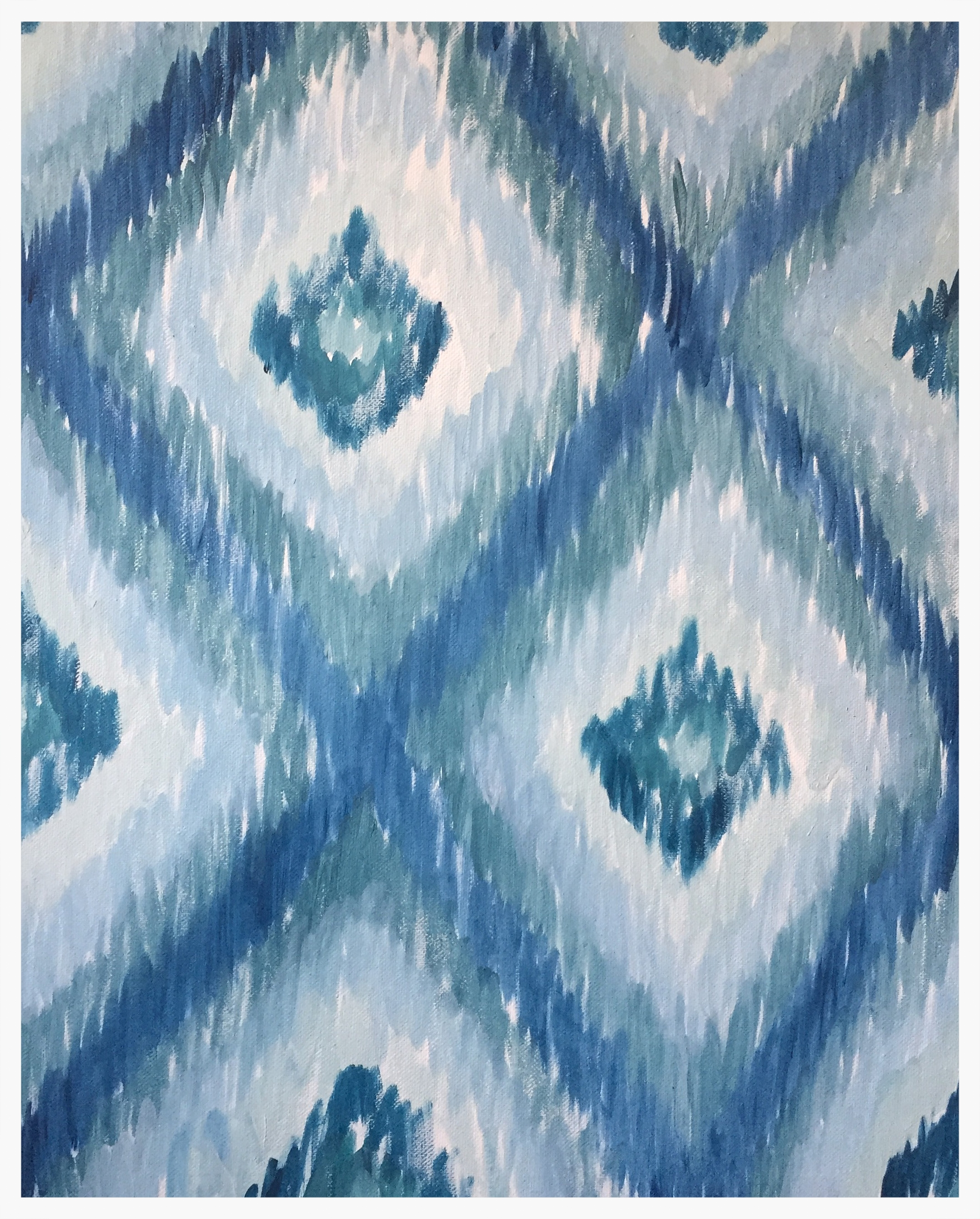Ikat Diamonds (Large)