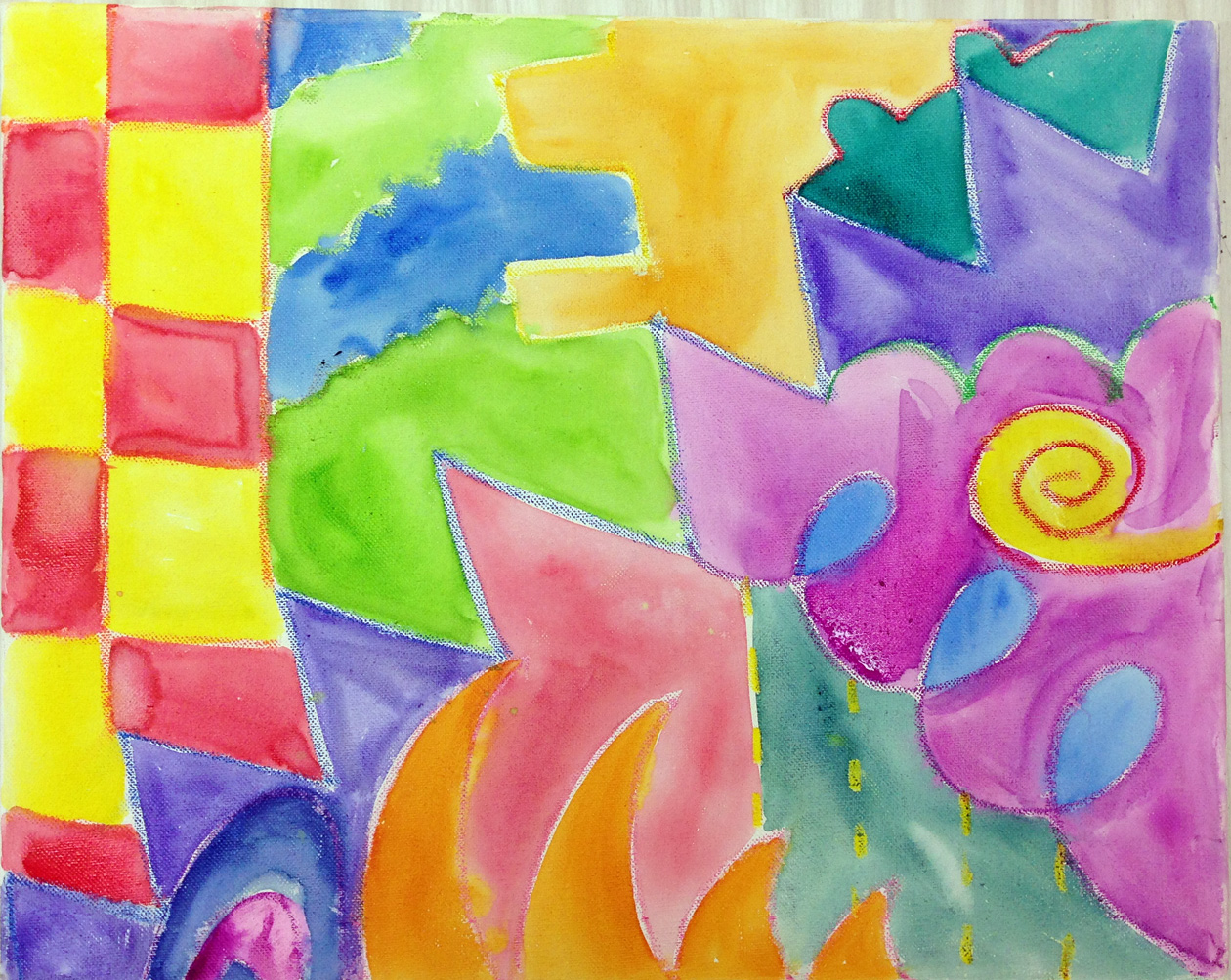 Shapes (Watercolor)