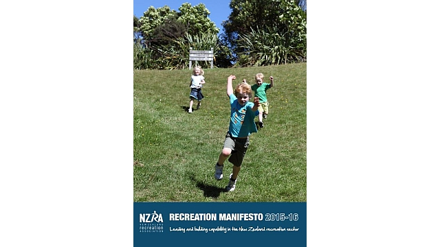 The Recreation Manifesto - NZRA launched its first Recreation Manifesto, setting out its vision for recreation and sport in New Zealand and laying out its core advocacy priorities.