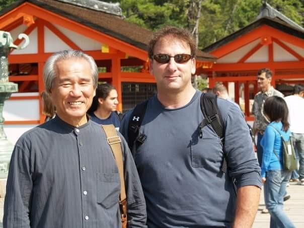 Ohshima sensei and Tom Heyman in Japan.jpg