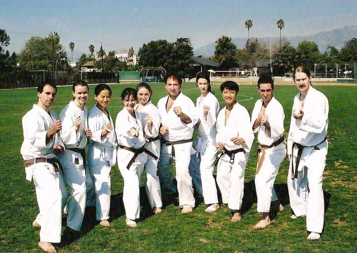Winter Special Training 2004 with  Santa Barbara Dojo students