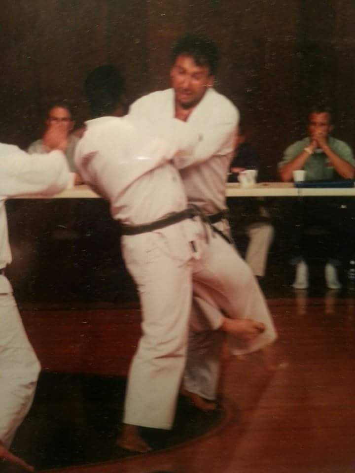 Yodan test 2000 long distance Jiyu  Kumite
