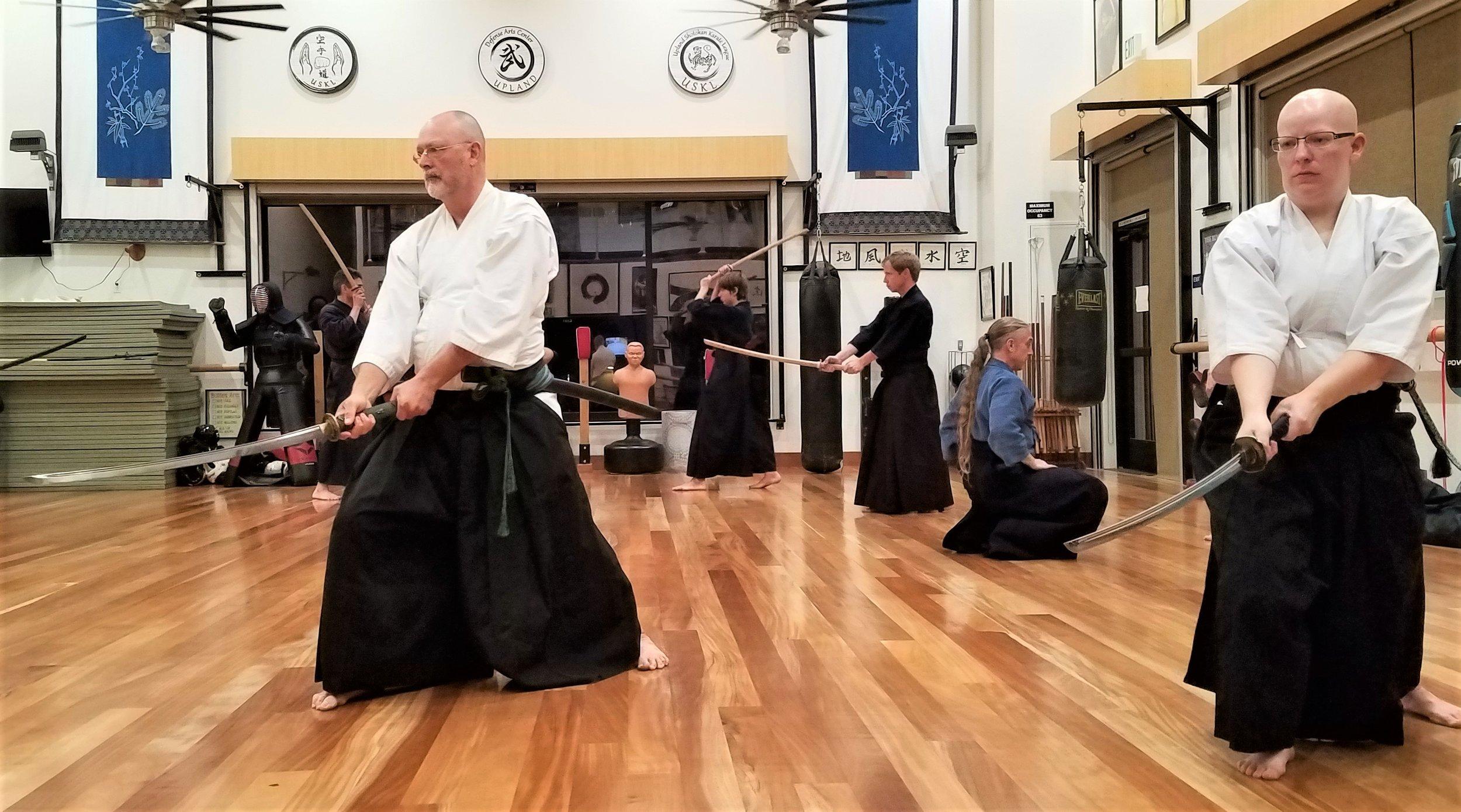 Iaido sharing floor with Kendo.jpg