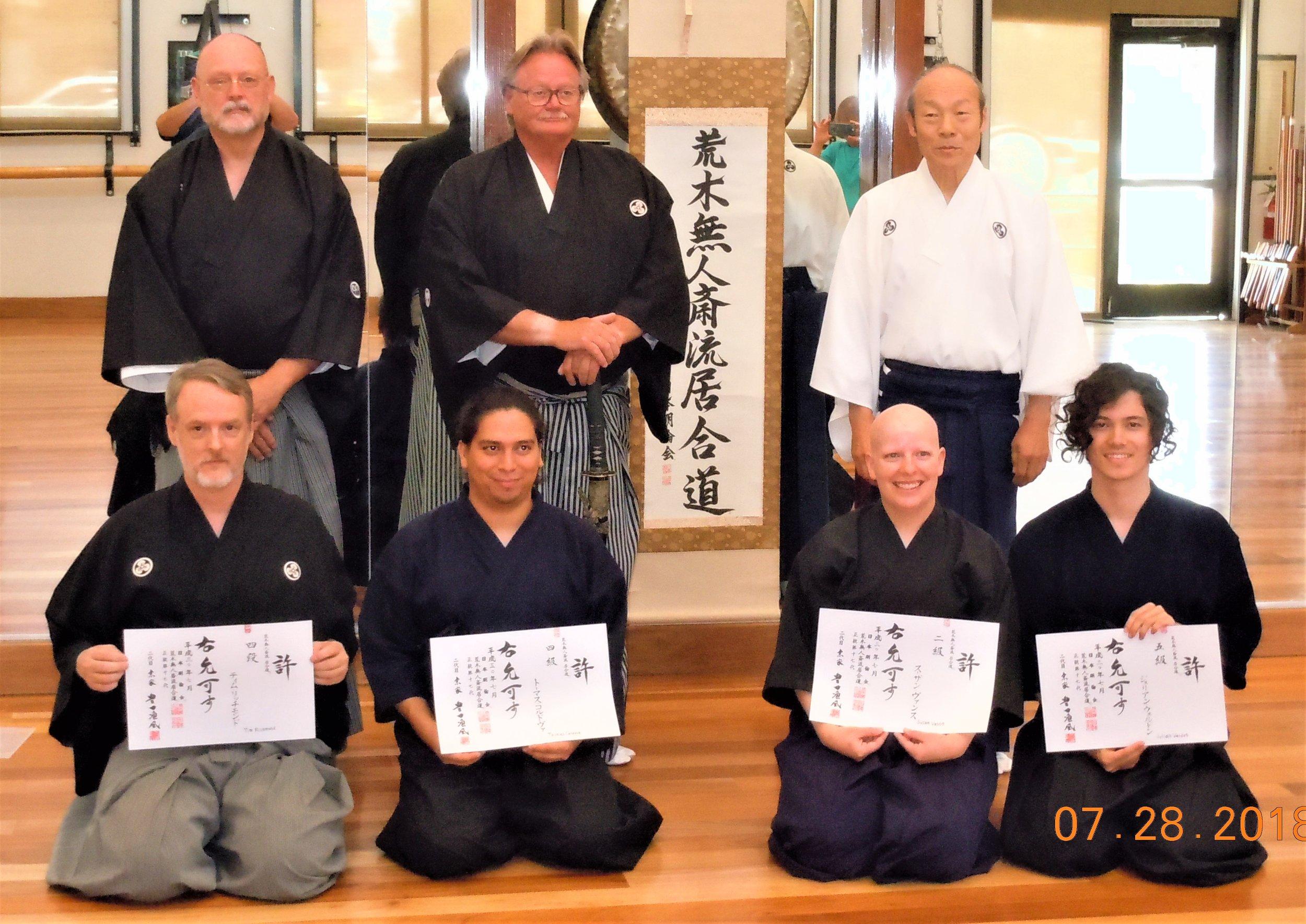 Iaido promotion group.JPG