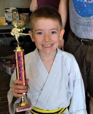 Nathaniel Goede -  Yellow belt - 2nd place kata
