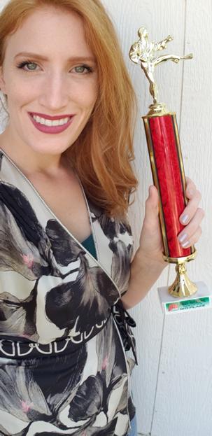 Gwyneth St. Martin - Brown belt - 3rd place kumite