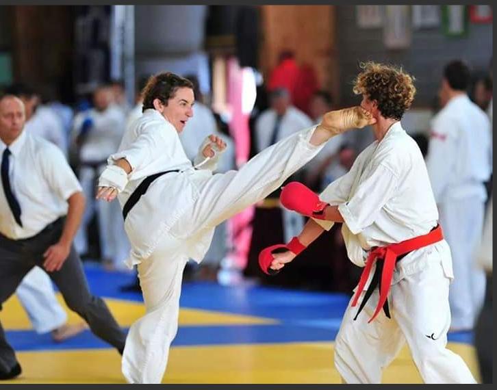 Picture: Ariel Heyman (Match Point) winning first place  France International Tournament 2014
