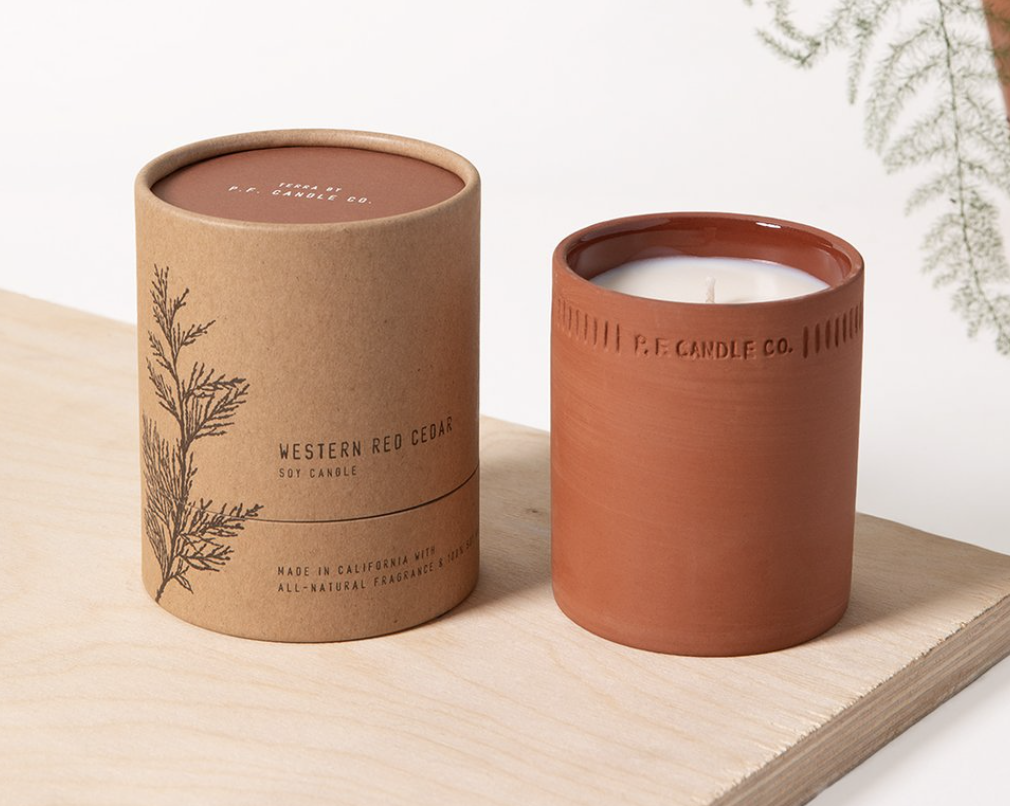 My all time favorite candles - Western Red Cedar scentClick to shop