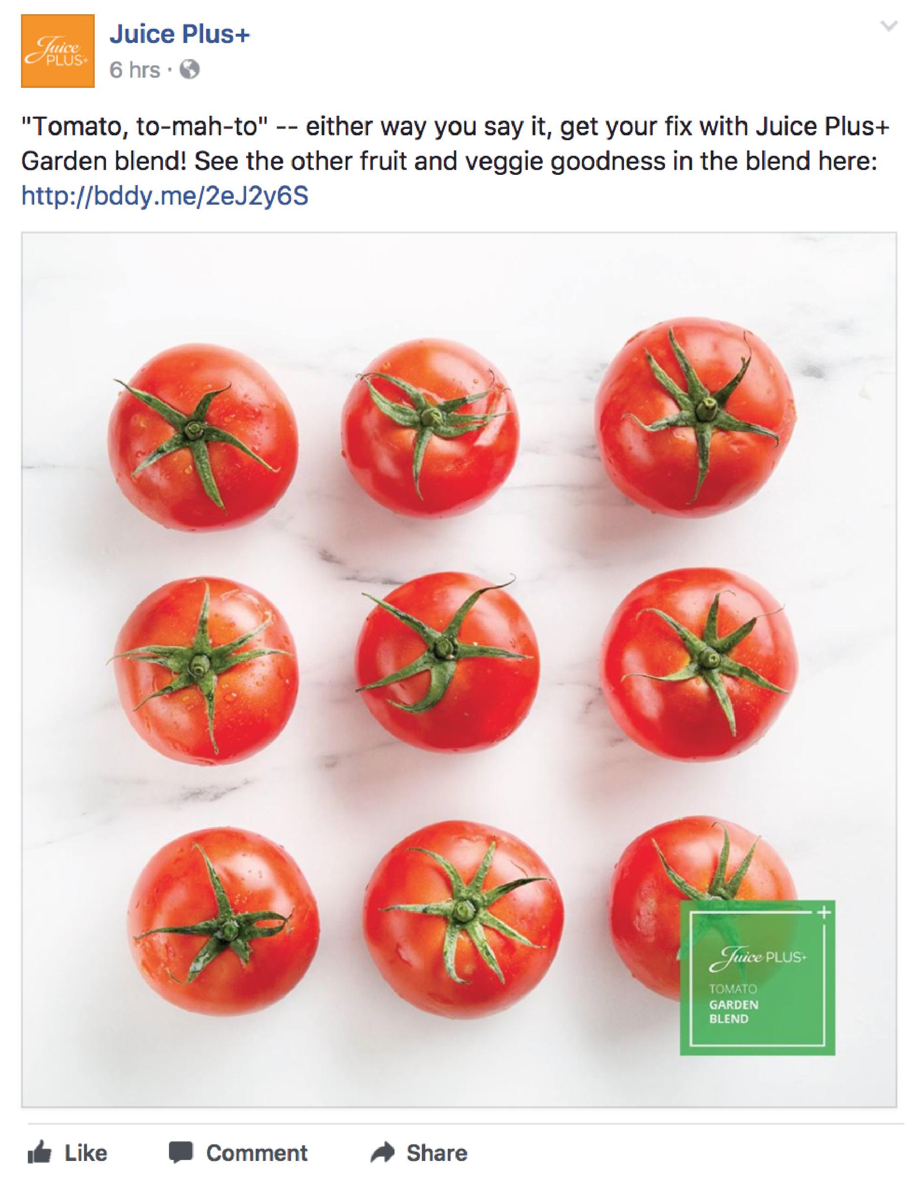 Juice Plus+ Tomatoes