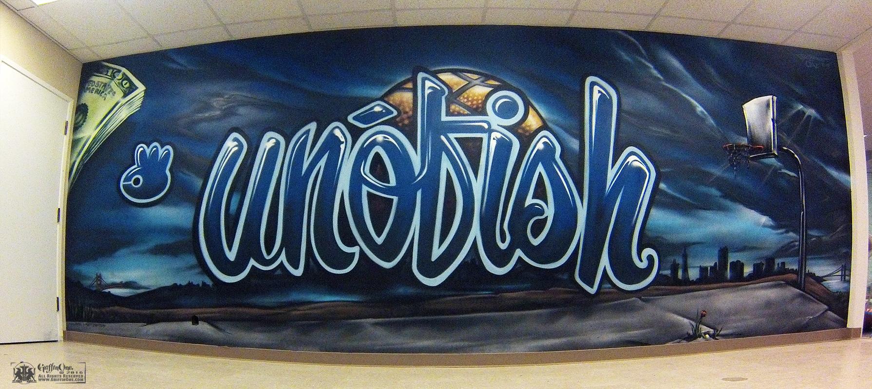 """""""Unofish Mural"""" - Burlingame CA"""